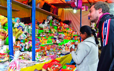 Feria de Alasita en Bolivia