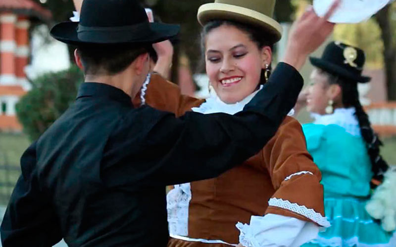 Danza Cueca Paceña