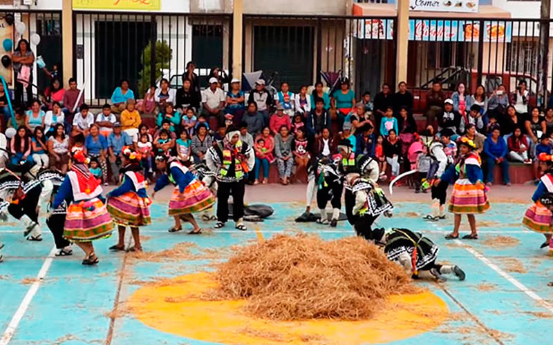 Danza Qashwa de Pampacancha