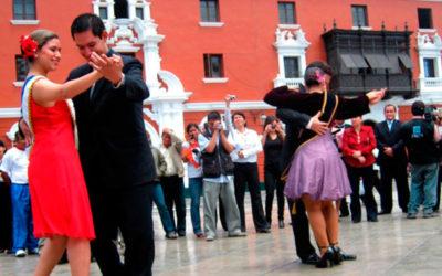 Danza el Vals peruano